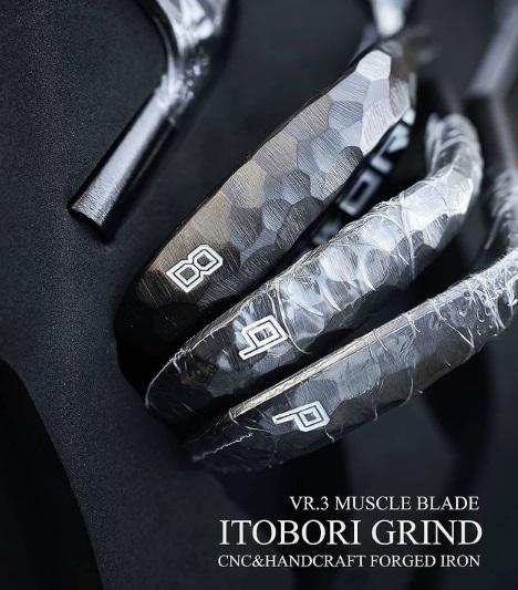 ITOBORI 2021 Muscle Black Boron Iron Set