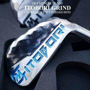 ITOBORI 2021 Muscle Black Chrome Iron Set
