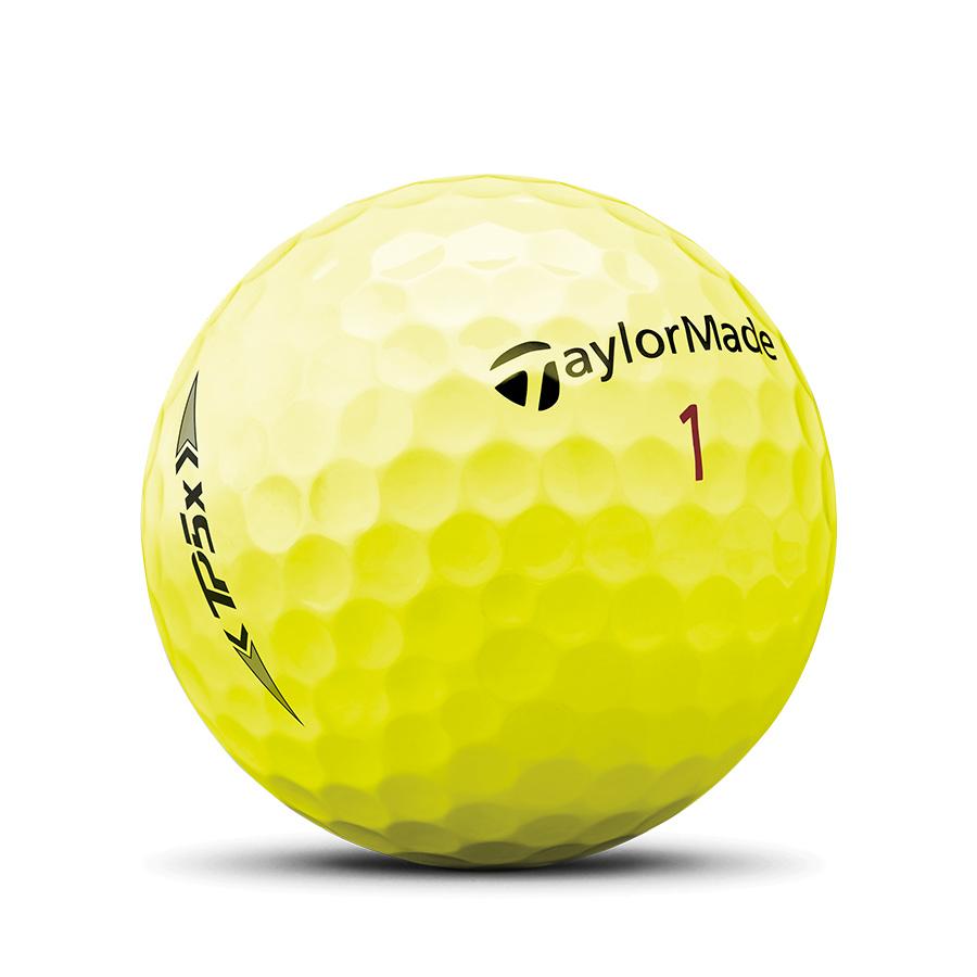 TaylorMade TP5x Yellow Golf Balls