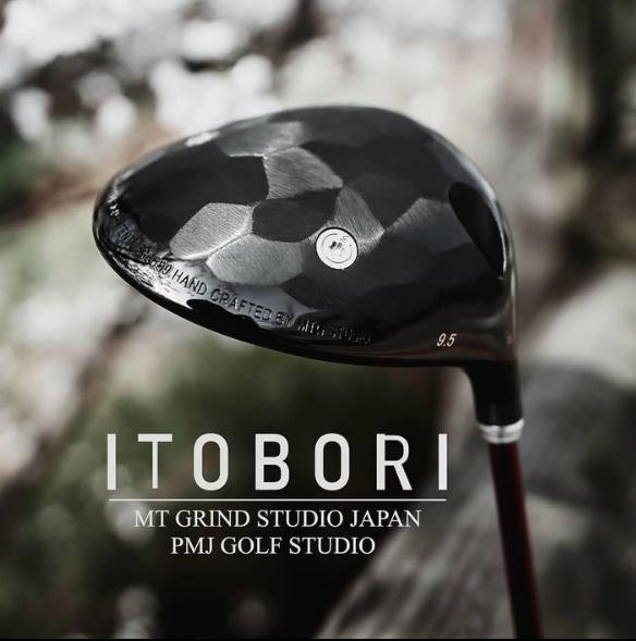 ITOBORI 2021 New Driver Black IP